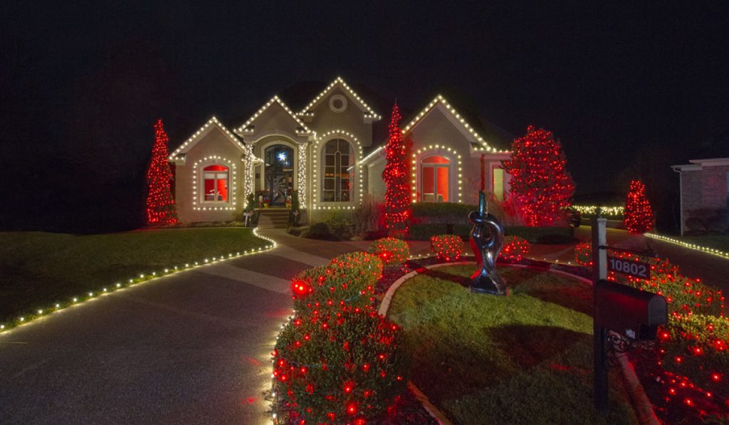 Professional Holiday Light Installation Indianapolis   Christmas Lights Indianapolis